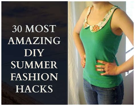 easy diy summer fashion ideas  step  step tutorials