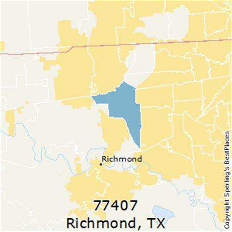 Zip Code Map Richmond Tx | best places to live in richmond zip 77407 texas