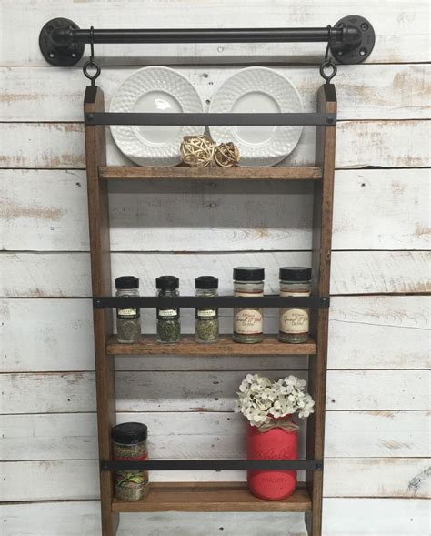 Kitchen Spice Rack Ideas by Best 25 Hanging Spice Rack Ideas On Pinterest Wall