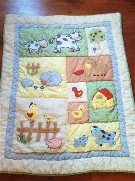 22 kidsline barnyard baby nursery crib bedding farm