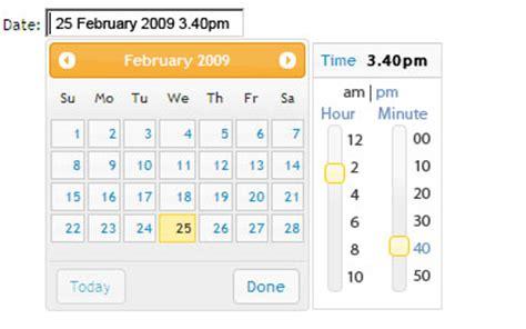 javascript format date from timest jquery date time picker jonathon hill
