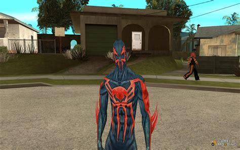gta san andreas spiderman mod game free download for pc spider man 2099 for gta san andreas