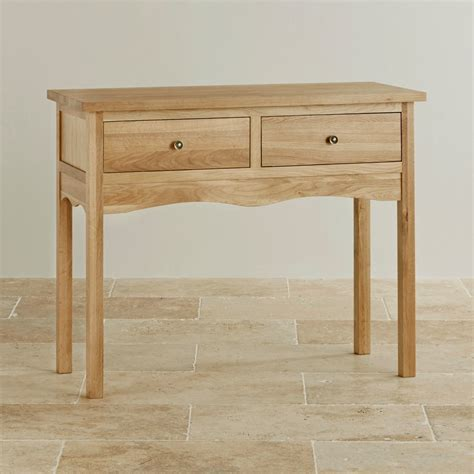 Oak Furniture Land Console Table Cairo Solid Oak Console Table By Oak Furniture Land