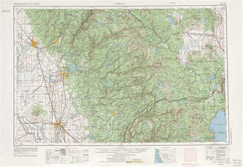 usgs maps california chico topographic maps ca usgs topo 39120a1 at 1