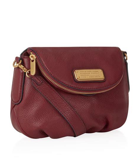 Mini Bag New marc by marc new q mini bag in purple lyst