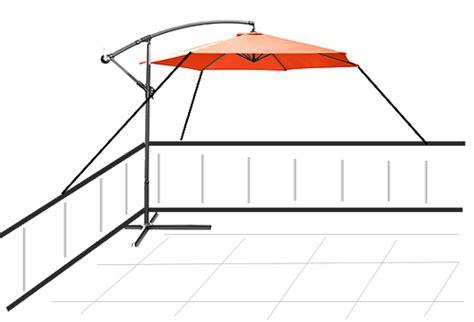 Sonnenschirm Dachterrasse Wind hat jemand einen 4 stock tauglichen sonnenschirm haus