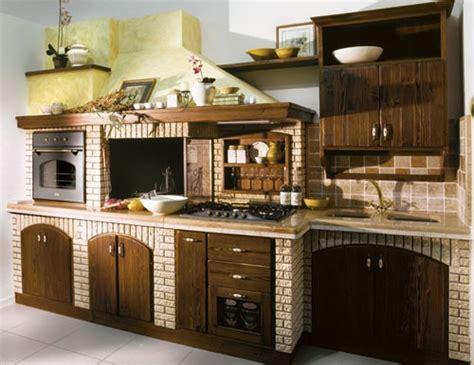 cucina in taverna cucina in taverna in muratura in legno