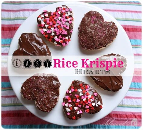 valentines day rice krispie treats rice krispie hearts valentine s day treat