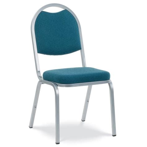 Padded Chair by Virco Fabric Padded Stack Chair With Back And Crown