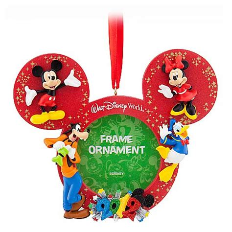 your wdw store disney christmas frame ornament 2012