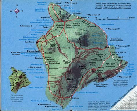 hawaii big island map and deborah in hawaii december 2012