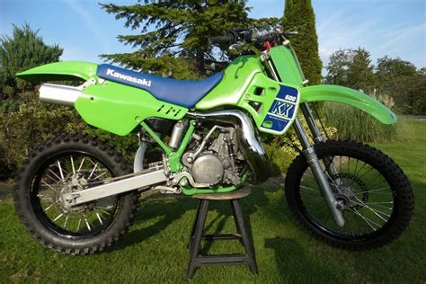 evo motocross bikes kawasaki kx500 kx 500 250 sr vintage evo 1989 twinshock
