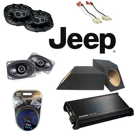 Jeep Wrangler Speaker Replacement Jeep Wrangler Yj 87 95 Kicker Cs464 Cs6934 Car Speakers