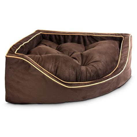 luxury dog bed replacement cover snoozer luxury overstuffed corner dog
