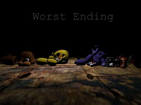 Crappy Endings by Fnaf 3 Worst Ending By Franciscofb On Deviantart