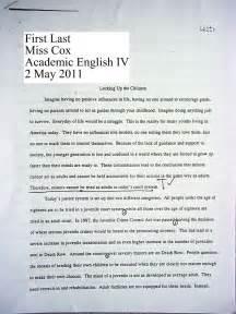 Miss cox s english classes sample persuasive essay