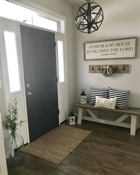 amazing farmhouse entryway mudroom design ideas