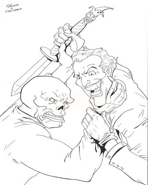 red skull coloring coloring pages