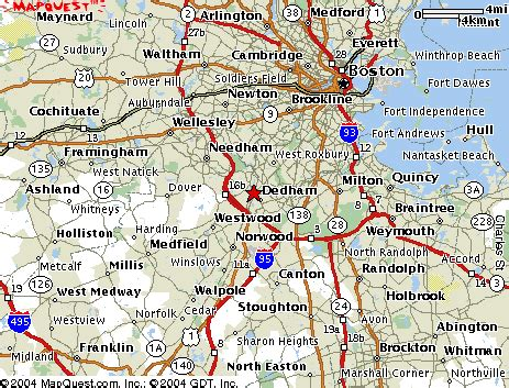 map of boston area map boston area