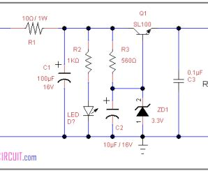 zener diode regulator circuit zener diode archives theorycircuit do it yourself electronics projects