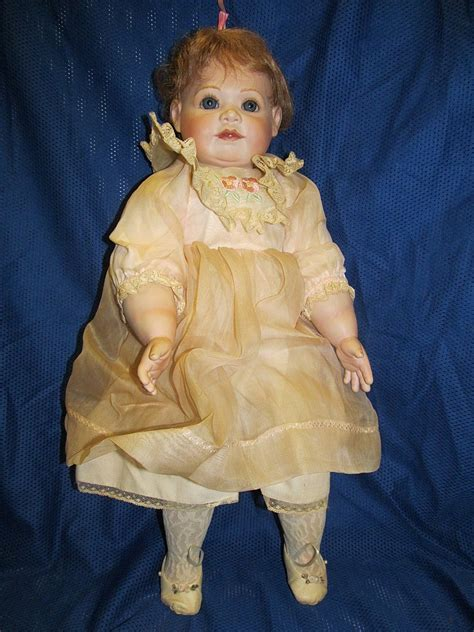 porcelain doll markings 309 22 quot porcelain baby doll see photos for markings