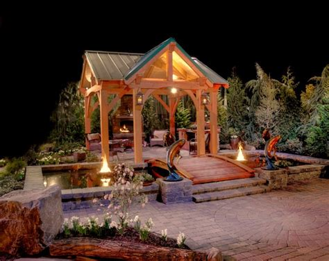 backyard pavilion kits timberline pavilion kit traditional patio portland