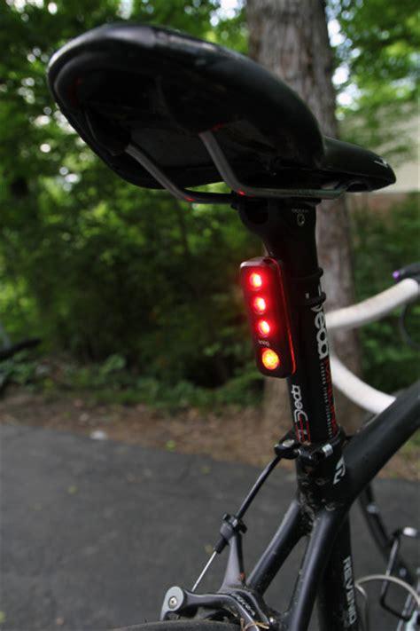 road bike led lights review knog s blinder road lights bikerumor
