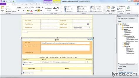 infopath repeating section infopath repeating section 28 images sharepoint for