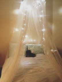 Black Bed Canopy With Lights Canopy And Twinkle Lights My Addiction String Lights