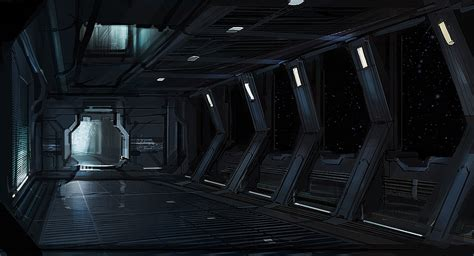 Sci Fi Interior sci fi interior by jarkuzy on deviantart