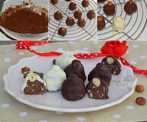 Ricette Cioccolatini Fatti In Casa by Cioccolatini Fatti In Casa Ricetta Facile E Velocissima