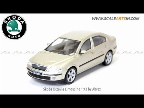 skoda octavia limousine  abrex diecast scale model car wwwscaleartsincom youtube