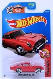 Diecast Hotwheels Aston Martin Db5 1963 Collector aston martin 1963 db5 model cars hobbydb