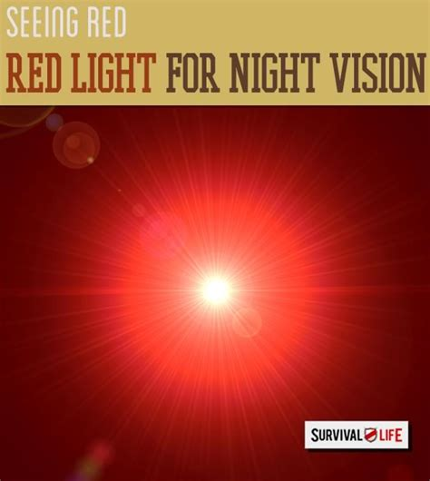 How Red Light Is Used For Night Vision Survival Life
