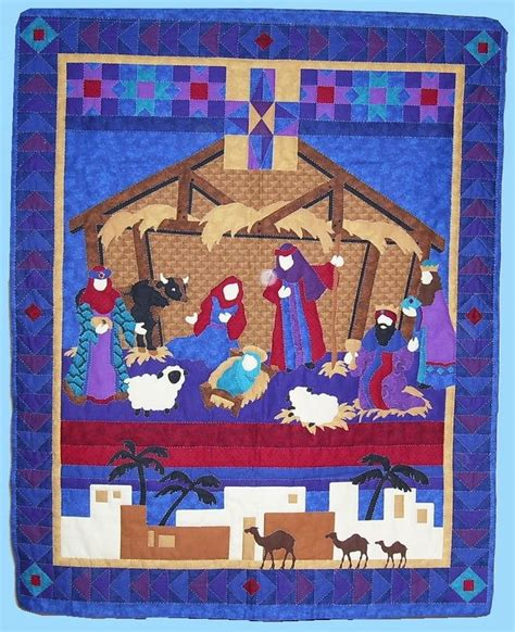 quilt pattern nativity 1000 images about christmas quilts on pinterest