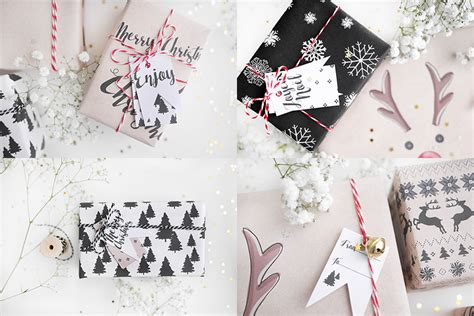Weihnachtsgeschenke Anhänger Zum Ausdrucken by Tag 4 Geschenkanh 228 Nger Und Geschenkpapier F 252 R Deine
