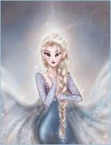elsa frozen fan art 33996734 fanpop