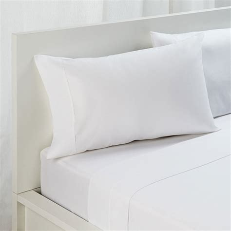 white bed sheet king bed sheet set 225tc white kmart