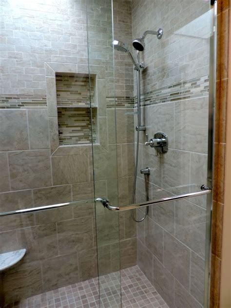 Stand Up Shower Glass Door Stand Up Shower Designs Stand Up Shower Bathroom Designs Car Tuning Bathroom Pinterest