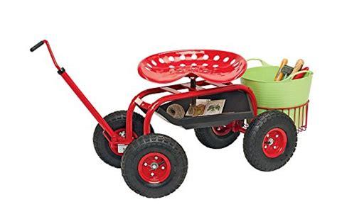 garden scooter tractor seat gardening seats on wheels