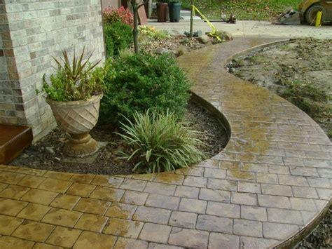 008 cement sidewalk ideas driveways patios sidewalks decorative concrete sted concrete