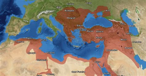 Empire Ottoman Chronologie by Chronologie Des Osmanischen Reiches Lynxx