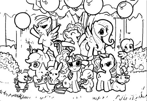 my little pony coloring pages all ponies my little pony coloring pages with all ponies coloring home