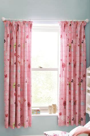 nursery curtains next buy woodland pencil pleat blackout curtains from the next uk shop nursery