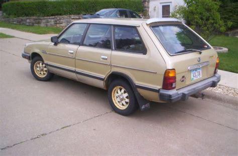 classic subaru wagon buy used classic 1984 subaru 5 door gl wagon 4 wheel