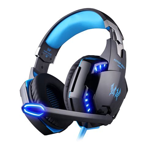 Headset Gaming Kotion Each G6200 Led With Usb 71 Surround Vibrate kotion each g2200 usb 7 1 surround sound vibration gaming