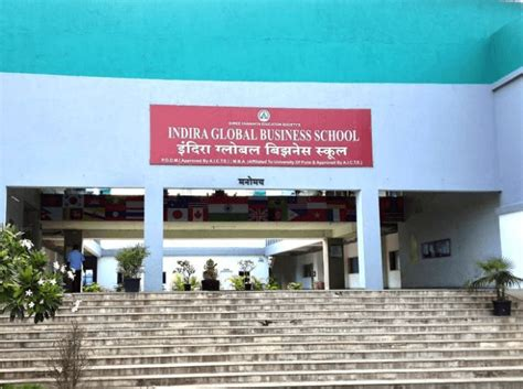 Indira Pune Mba Admission by Indira Global Business School Igbs Fee Structure