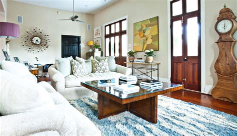shag rug in living room white shag rug living room eclectic with artwork blue area rug beeyoutifullife