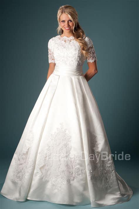 Wedding Dresses Ta by Modest Wedding Dresses Brunetta
