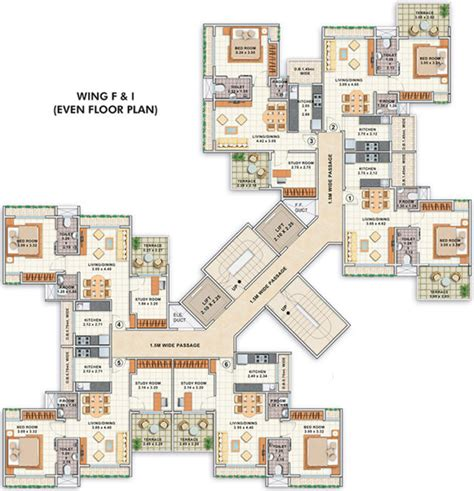 jade residences layout 454 sq ft 1 bhk 1t apartment for sale in creatoz builders